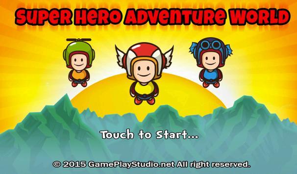 Super Hero Adventure World screenshot 2
