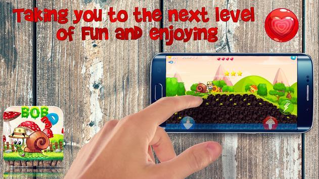 Snail Adventure bob 3D apk screenshot