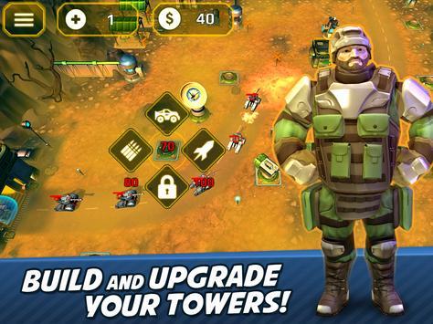 Tower Defense Generals TD apk screenshot