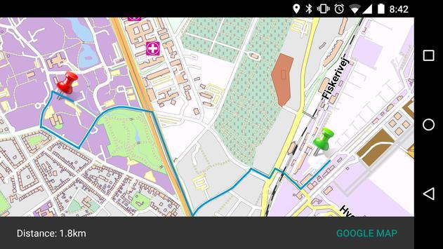 ANGERS FRANCE MAP apk screenshot