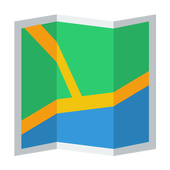 BARCELONA SPAIN MAP icon