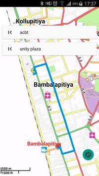 MOGADISHU SOMALIA MAP poster