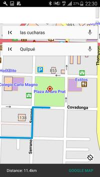 SANTA-CRUZ CALIFORNIA MAP apk screenshot