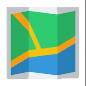 SANTA-MONICA CALIFORNIA MAP icon