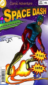 Space Dash Comic Adventure poster