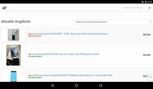 Gebrauchtpreis screenshot 7
