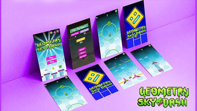 Geometry Sky Dash screenshot 1