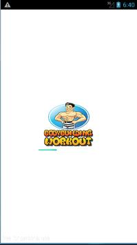 Bodybuilding Workout program poster