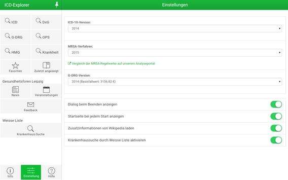 ICD-Explorer apk screenshot