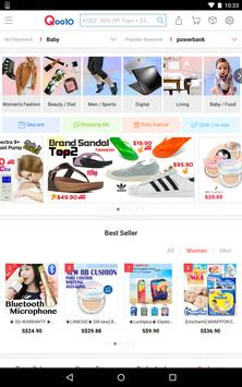Qoo10 SG for Tablet apk screenshot