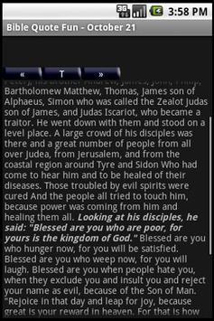 Bible Quote Fun! screenshot 1