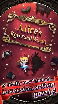 Alice's reversed world poster