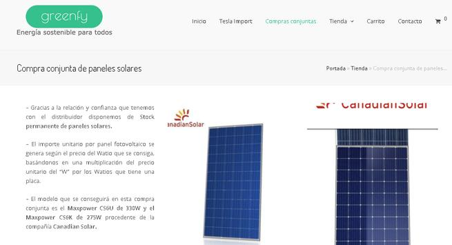 GREENFY.NET Energía Solar para Todos screenshot 1