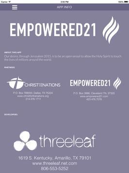Empowered21 apk screenshot