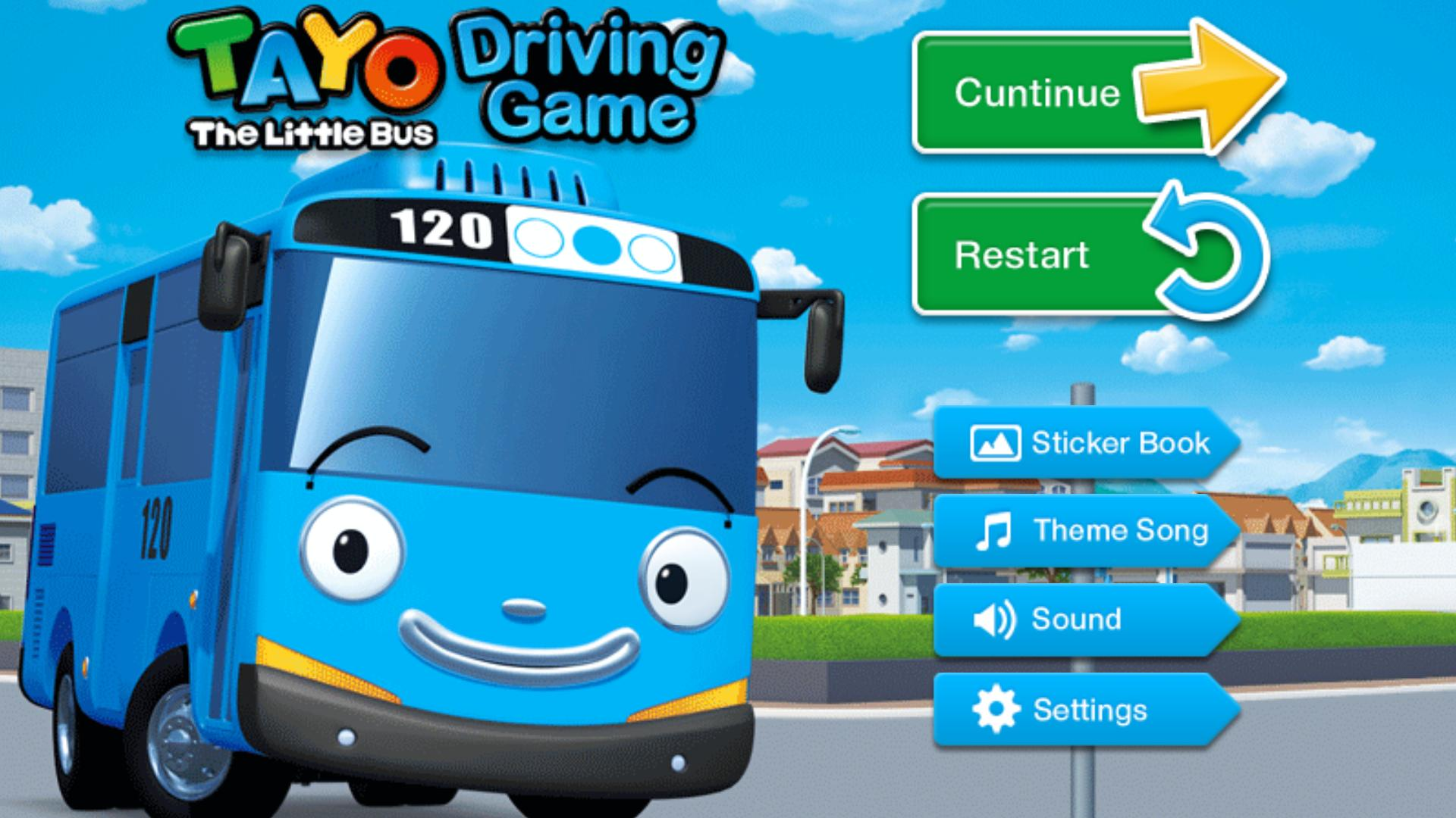 Tayo S Driving Game For Android Apk Download