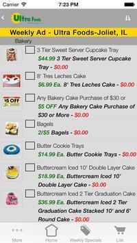 Ultra Foods apk screenshot