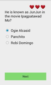 Pinoy Celebrity Quiz poster