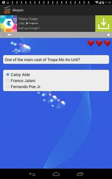 Pinoy Celebrity Quiz apk screenshot