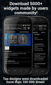 Make Your Clock Widget apk screenshot