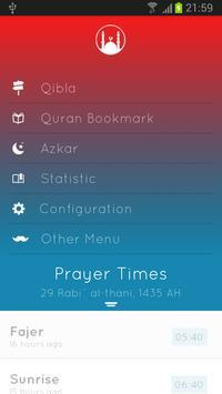 Ibadah - prayer times apk screenshot