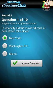 FreePlay Christmas Quiz screenshot 3