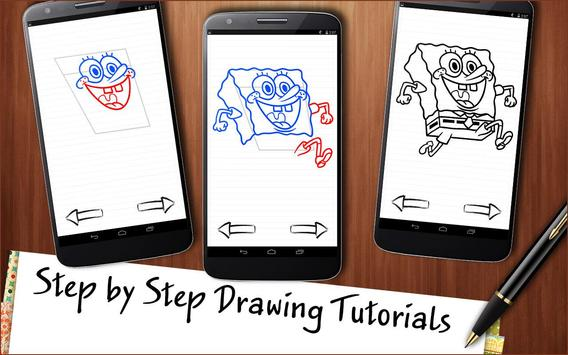 Draw Spongebob screenshot 2