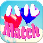 出会いアプリのハルMatchで会える友達探し icon