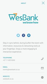 WesBank Events poster