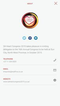 SA Heart Congress poster