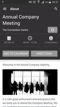Dimension Data Event App poster