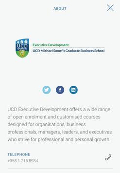 UCD Business Events apk screenshot