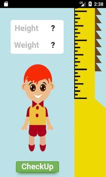 영유아 신체 발육 검진 백분위 ( 키 & 몸무게 ) screenshot 2