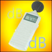 decibel meter Pro sound noise icon