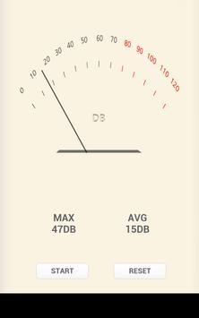 decibel meter Pro sound noise poster