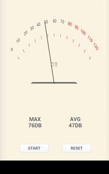decibel meter Pro sound noise apk screenshot