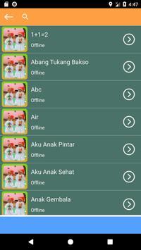 Kumpulan Mp3 Lagu Anak Telur Dadar Offline Terbaru screenshot 1