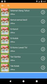 Kumpulan Mp3 Lagu Anak Telur Dadar Offline Terbaru screenshot 2