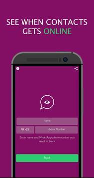 WhatsOnline - whatsapp online notifier poster