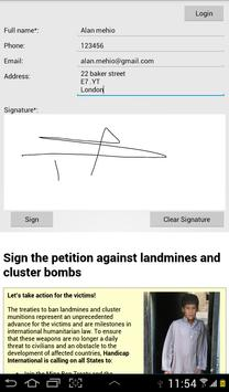 Petition screenshot 7