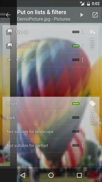 Multi-lists for Muzei apk screenshot