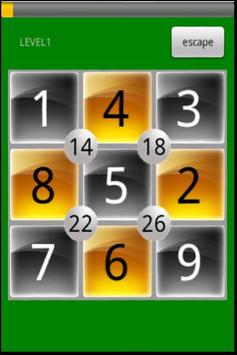 Square Math Puzzle Free poster