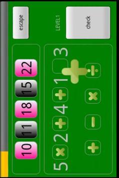 Math Puzzle Free apk screenshot