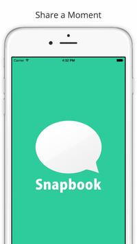 Snapbook - secret chat. poster