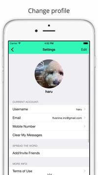 Snapbook - secret chat. apk screenshot