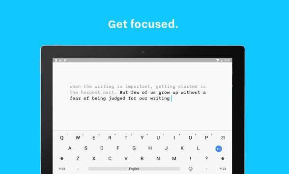 iA Writer: Note. Write. Edit. apk screenshot