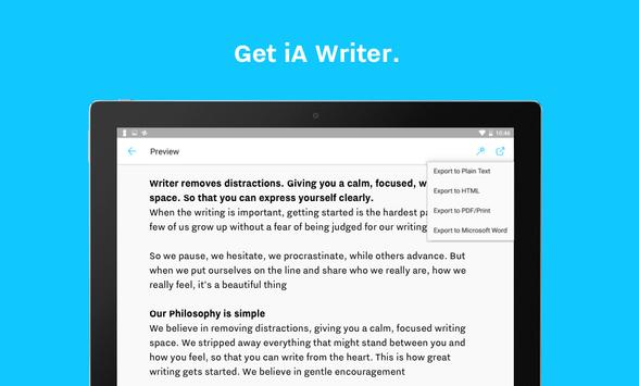 iA Writer screenshot 15