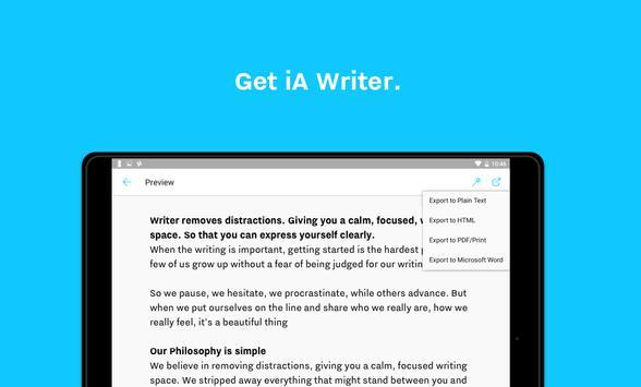 iA Writer screenshot 23