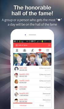 Kpop Star ♡ - Idol ranking apk screenshot