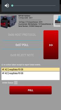 SSP Bill Validator Manager apk screenshot