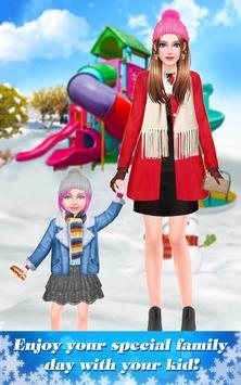 Mommy & Baby Winter Family Spa apk screenshot